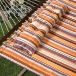 Bliss quilted hammock with button tuft pillow