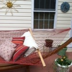 Outer Banks Hammocks terra cotta rope hammock