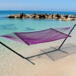 Caribbean-rope-hammock-purple