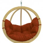 Globo Chair Terracotta Cotton cushion-L
